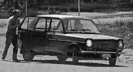 Simca 1100 prototoype Juillet 1967
