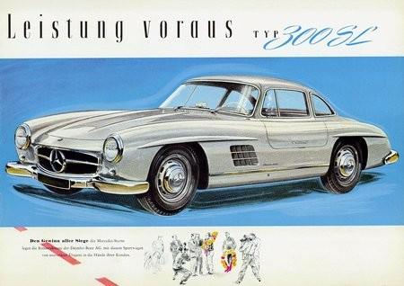 mercedes 300SL W198 (1)