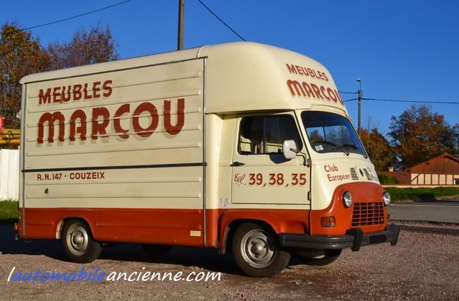 Renault Estafette meubles Marcou (a1)