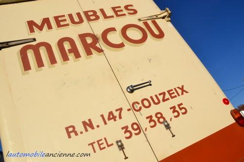 Renault Estafette meubles Marcou (z3)