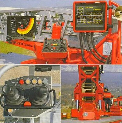 Camiva-PPM EPA 30 - poste de commande