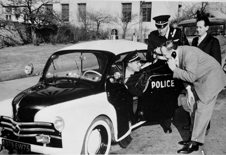 Renault 4CV Police pie (4)