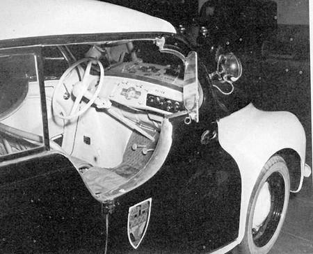 Renault 4CV Police pie (7)