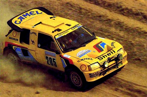 Peugeot 205 T16 Dakar 1987 (2)