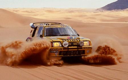 Peugeot 205 T16 Dakar 1987 (3)