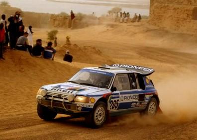Peugeot 205 T16 Dakar 1989 (1)