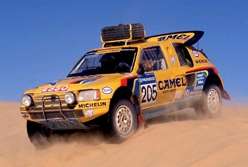 Peugeot 205 T16 Dakar 1990 (3)