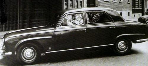 Peugeot  403 prototype pininfarina