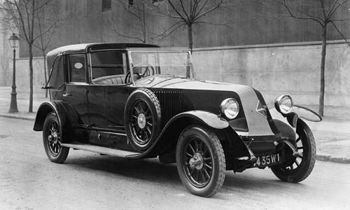Renault 40 CV coupé chauffeur - 1925 (2)