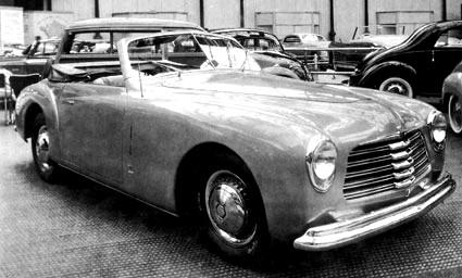 simca 8 sport prototype 1948