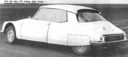 Citroên DS Coupé prototype SM