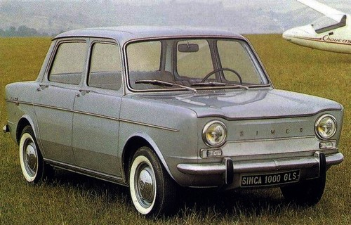 la page de la simca 1000 | l'automobile ancienne