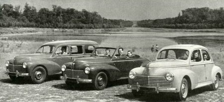 peugeot 203 - gamme 1954
