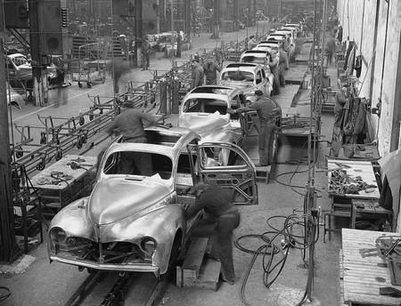 peugeot 203 - usine 1950