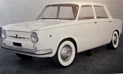 simca projet 1000 1960