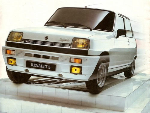 renault 5 laur ate turbo 1984 l 39 automobile ancienne. Black Bedroom Furniture Sets. Home Design Ideas