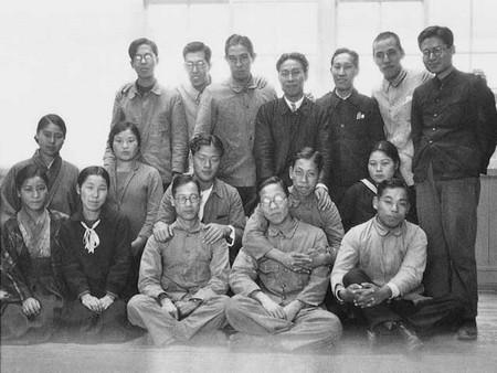 l'équipe Toyoda du département automobile (1933)