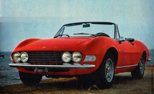 fiat dino spider 1966 1972 l 39 automobile ancienne. Black Bedroom Furniture Sets. Home Design Ideas