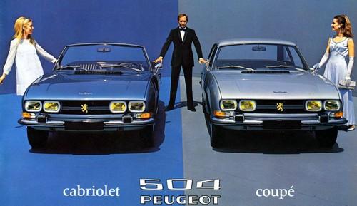 peugeot 504 1968 1983 l 39 automobile ancienne. Black Bedroom Furniture Sets. Home Design Ideas