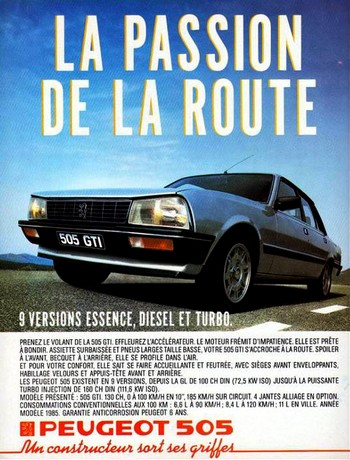 Peugeot 505 GTI (2)