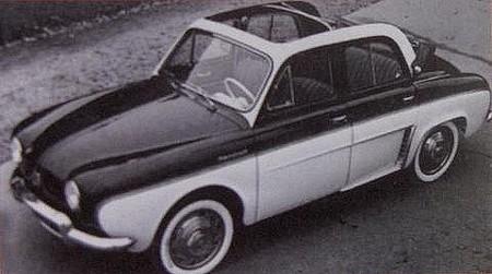 Renault Dauphine Découvrable Chapron (2)