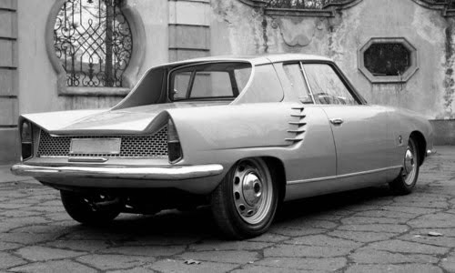 alfa romeo dauphine par michelotti 1962 l 39 automobile ancienne. Black Bedroom Furniture Sets. Home Design Ideas