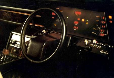 Aston Martin lagonda tableau de bord