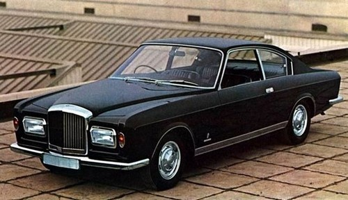 Bentley T1 Coupe Pininfarina 1967
