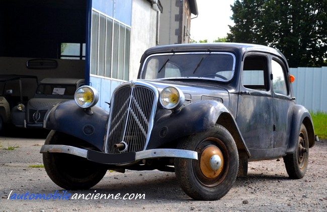 Citroën Traction 7C - 1935 (1a)