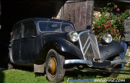 Citroën Traction 7C - 1935 - grange sortie (1)