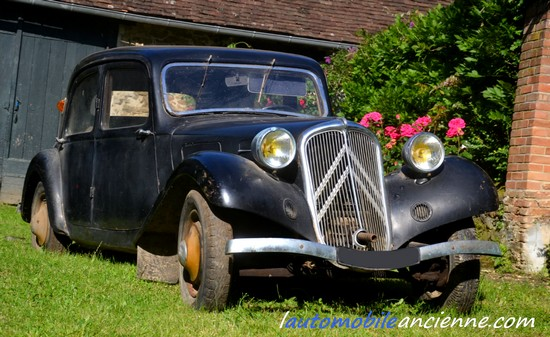 Citroën Traction 7C - 1935 - jardin (3)