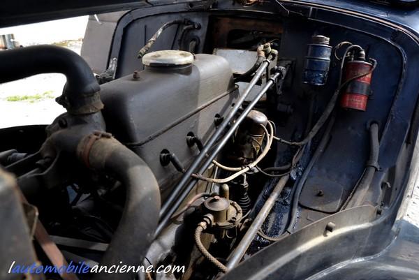 Citroën Traction 7C - 1935 - moteur