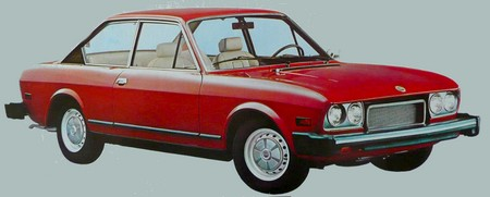 Fiat 124 coupe USA