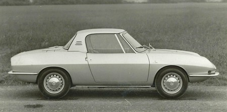 Fiat 850 hard-top Bertone