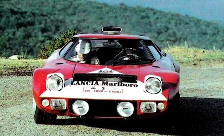 Lancia Stratos HF rallye corse 1972