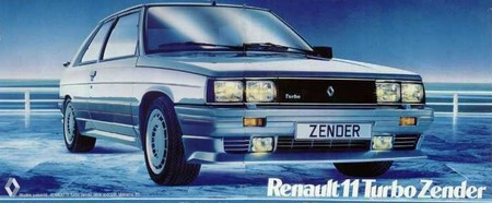renault 11 turbo zender l 39 automobile ancienne. Black Bedroom Furniture Sets. Home Design Ideas