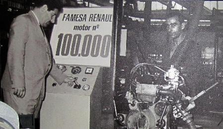 Famesa Valladolid - 100000eme moteur