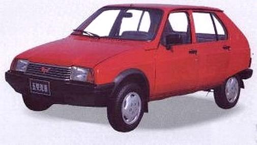 Wuling LZW 7100 - Citroën Visa (1)