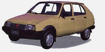 Wuling LZW 7100 - Citroën Visa (2)