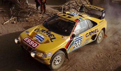 124 - Paris Dakar 1990. Vatanen/Berglund. Peugeot 405 Turbo 16. Vainqueur