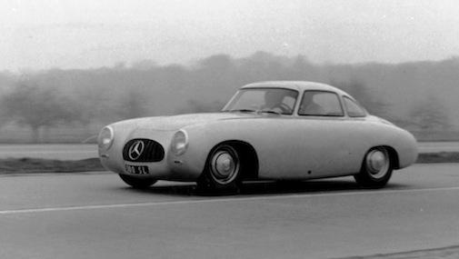 Caption orig.: Mercedes-Benz Rennsportwagen Typ 300 SL (W 194) Fahrgestell 2, 1952. --> falsch: Fahrgestellnummer 1