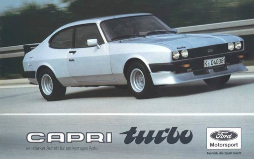 Ford Capri 2.8 Turbo
