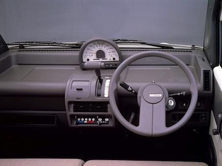 Nissan SCargo interieur