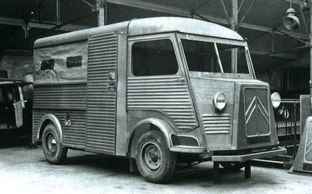 Citroen type h prototype