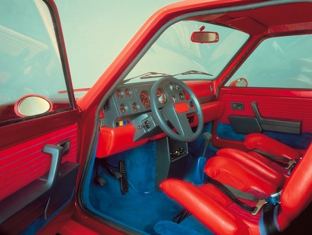 Renault 5 Turbo interieur (2)
