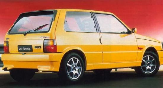 Fiat Uno Turbo IE brazil