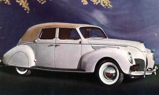 Lincoln Zephyr Convertible 1938