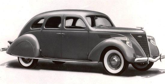 Lincoln Zephyr Limousine De Ville