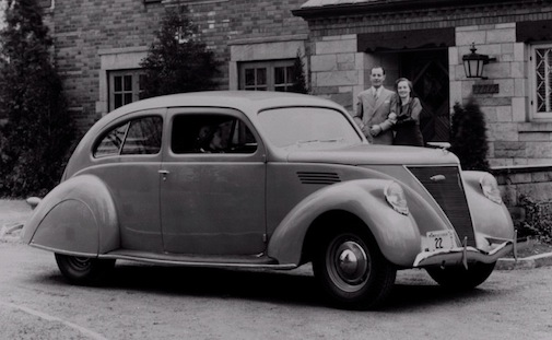 Lincoln Zephyr Sedan Coupe 1936
