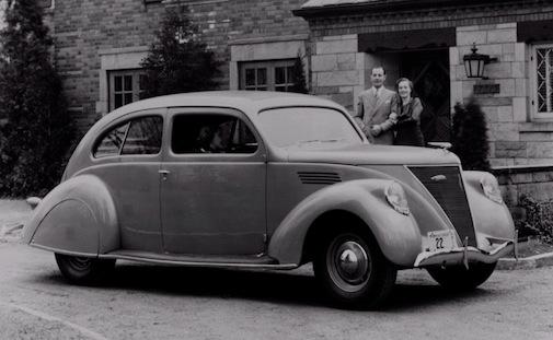 Lincoln Zephyr Sedan Coupe 1936